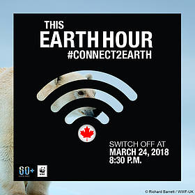 Earth Hour 2018  	© WWF-Canada