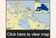 View map of the federally announced National Wildlife Area for Bowhead Whales.  	© WWF-Canada